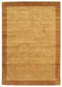 Handloom Frame - Złoty Dywan 160X230 Nowoczesny Jasnobrązowy/Brązowy (Wełna, Indie)