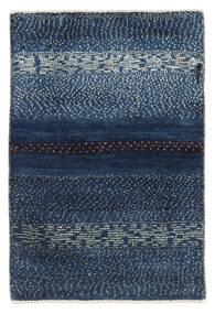 Gabbeh (Persja) Dywan 63X94 Nowoczesny Tkany Ręcznie Ciemnoniebieski/Niebieski (Wełna, Persja/Iran)