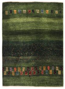 Gabbeh (Persja) Dywan 91X126 Nowoczesny Tkany Ręcznie Ciemnozielony/Zielony/Oliwkowy (Wełna, Persja/Iran)
