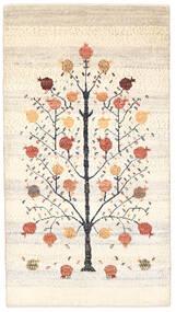 Gabbeh (Persja) Dywan 83X153 Nowoczesny Tkany Ręcznie Beżowy (Wełna, Persja/Iran)