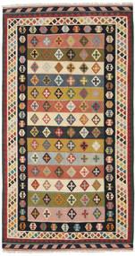 Kilim Vintage Dywan 158X298 Orientalny Tkany Ręcznie Ciemnoszary/Beżowy (Wełna, Persja/Iran)