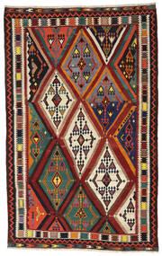 Kilim Vintage Dywan 173X283 Orientalny Tkany Ręcznie Ciemnoczerwony/Czarny (Wełna, Persja/Iran)
