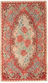 Kilim Rose Moldavia Dywan 168X288 Orientalny Tkany Ręcznie Rdzawy/Czerwony/Jasnoróżowy (Wełna, Mołdawia)