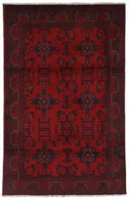 Afgan Khal Mohammadi Dywan 123X196 Orientalny Tkany Ręcznie Ciemnoczerwony/Ciemnobrązowy (Wełna, Afganistan)
