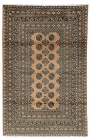 Afgan Dywan 117X176 Orientalny Tkany Ręcznie Ciemnobrązowy/Czarny (Wełna, Afganistan)