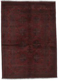 Afgan Khal Mohammadi Dywan 131X178 Orientalny Tkany Ręcznie Czarny (Wełna, Afganistan)