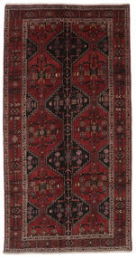 Sziraz Dywan 148X292 Orientalny Tkany Ręcznie Chodnik Czarny (Wełna, Persja/Iran)