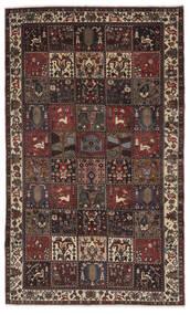 Baktjar Dywan 170X290 Orientalny Tkany Ręcznie Czarny/Ciemnobrązowy (Wełna, Persja/Iran)