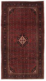 Hosseinabad Dywan 168X302 Orientalny Tkany Ręcznie Chodnik Czarny (Wełna, Persja/Iran)