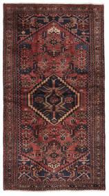 Hamadan Dywan 115X210 Orientalny Tkany Ręcznie Czarny/Ciemnobrązowy (Wełna, Persja/Iran)
