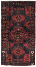 Hamadan Dywan 113X210 Orientalny Tkany Ręcznie Czarny/Ciemnobrązowy (Wełna, Persja/Iran)