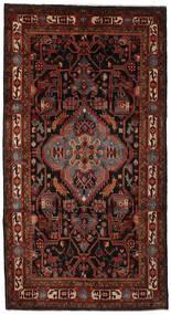 Nahawand Dywan 170X309 Orientalny Tkany Ręcznie Chodnik Czarny/Ciemnobrązowy (Wełna, Persja/Iran)