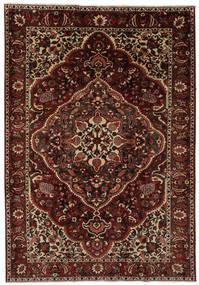 Baktjar Dywan 205X304 Orientalny Tkany Ręcznie Czarny/Ciemnobrązowy (Wełna, Persja/Iran)
