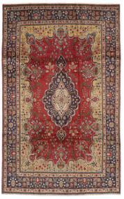 Tebriz Dywan 186X300 Orientalny Tkany Ręcznie Ciemnobrązowy/Brązowy (Wełna, Persja/Iran)