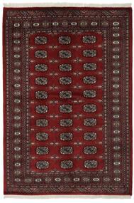 Pakistański Bucharski 2Ply Dywan 141X206 Orientalny Tkany Ręcznie Czarny (Wełna, Pakistan)