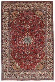 Mahal Dywan 207X319 Orientalny Tkany Ręcznie Ciemnobrązowy/Czarny (Wełna, Persja/Iran)