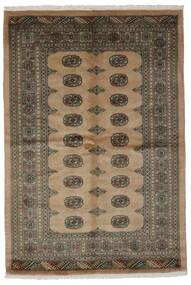 Pakistański Bucharski 3Ply Dywan 122X193 Orientalny Tkany Ręcznie Ciemnobrązowy/Czarny/Brązowy (Wełna, Pakistan)