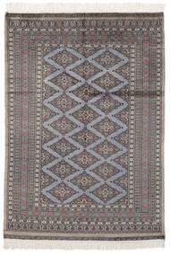 Pakistański Bucharski 2Ply Dywan 126X179 Orientalny Tkany Ręcznie Czarny/Ciemnobrązowy (Wełna, Pakistan)