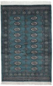 Pakistański Bucharski 3Ply Dywan 110X162 Orientalny Tkany Ręcznie Czarny (Wełna, Pakistan)