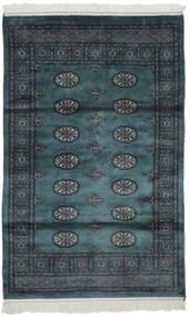 Pakistański Bucharski 2Ply Dywan 105X166 Orientalny Tkany Ręcznie Czarny (Wełna, Pakistan)