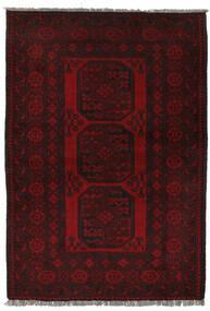 Afgan Dywan 100X150 Orientalny Tkany Ręcznie Czarny (Wełna, Afganistan)