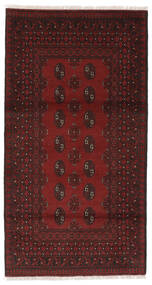 Afgan Dywan 99X186 Orientalny Tkany Ręcznie Czarny (Wełna, Afganistan)