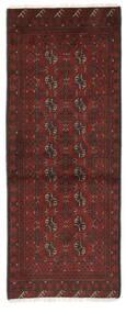 Afgan Dywan 74X193 Orientalny Tkany Ręcznie Chodnik Czarny/Ciemnobrązowy (Wełna, Afganistan)