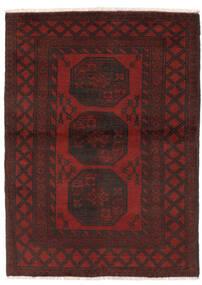 Afgan Dywan 96X143 Orientalny Tkany Ręcznie Czarny (Wełna, Afganistan)