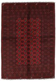 Afgan Dywan 157X228 Orientalny Tkany Ręcznie Czarny (Wełna, Afganistan)