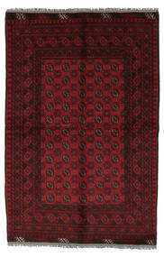 Afgan Dywan 156X230 Orientalny Tkany Ręcznie Czarny/Biały/Creme (Wełna, Afganistan)